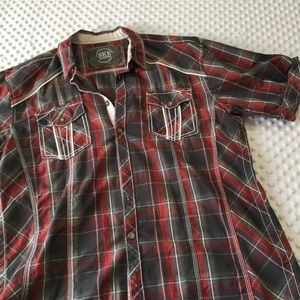 Men's button down bke xl